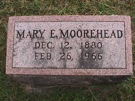 MOOREHEAD, MARY E - Henry County, Iowa | MARY E MOOREHEAD