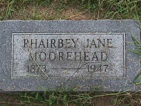 MOOREHEAD, PHAIRBEY JANE - Henry County, Iowa | PHAIRBEY JANE MOOREHEAD
