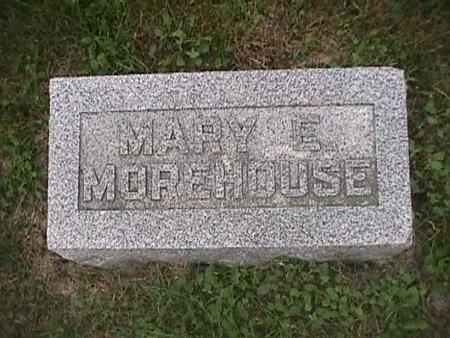 MOREHOUSE, MARY - Henry County, Iowa | MARY MOREHOUSE