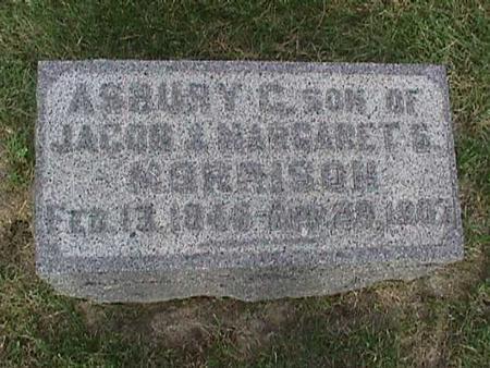 MORRISON, ASBURY C. - Henry County, Iowa | ASBURY C. MORRISON