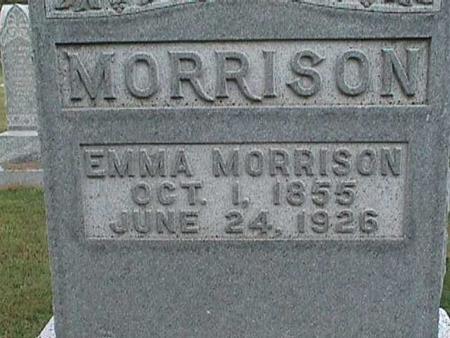 MORRISON, EMMA - Henry County, Iowa | EMMA MORRISON