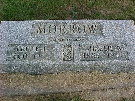 MORROW, LETTIE J. - Henry County, Iowa | LETTIE J. MORROW