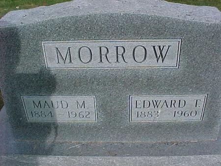 MORROW, EDWARD T - Henry County, Iowa | EDWARD T MORROW