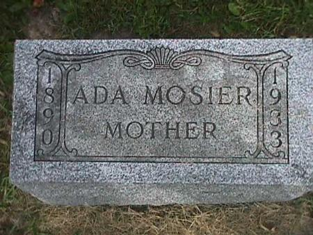 MOSIER, ADA - Henry County, Iowa | ADA MOSIER
