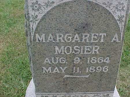 MOSIER, MARGARET A. - Henry County, Iowa | MARGARET A. MOSIER