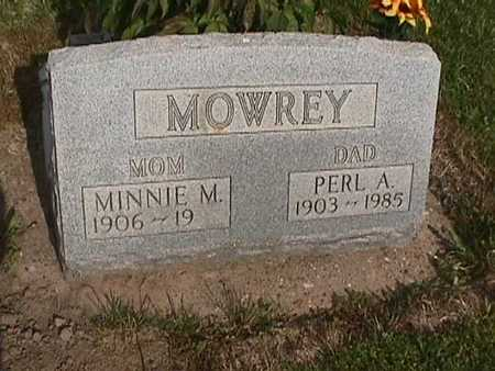 MOWREY, MINNIE - Henry County, Iowa | MINNIE MOWREY