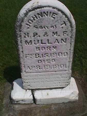 MULLAN, JOHNNIE T. - Henry County, Iowa | JOHNNIE T. MULLAN