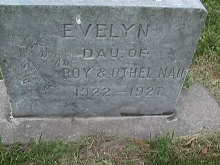 NAU, EVELYN - Henry County, Iowa | EVELYN NAU