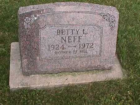 NEFF, BETTY L. - Henry County, Iowa | BETTY L. NEFF
