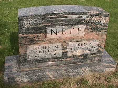 NEFF, ESTHER - Henry County, Iowa | ESTHER NEFF