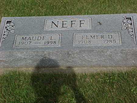 NEFF, MAUDE - Henry County, Iowa | MAUDE NEFF