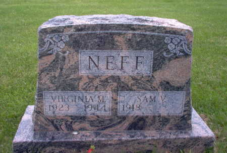 NEFF, VIRGINIA M. - Henry County, Iowa | VIRGINIA M. NEFF