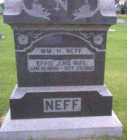 NEFF, EFFIE J. - Henry County, Iowa | EFFIE J. NEFF