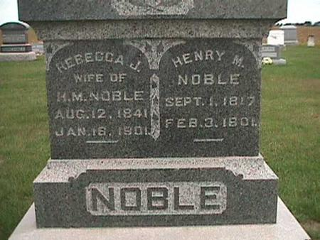 NOBLE, HENRY - Henry County, Iowa | HENRY NOBLE