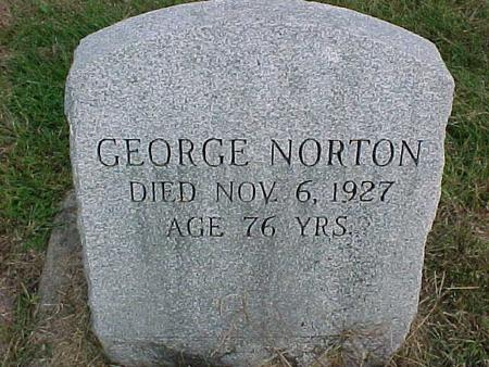 NORTON, GEORGE - Henry County, Iowa | GEORGE NORTON