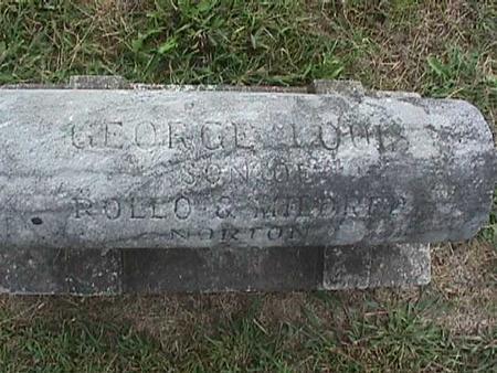 NORTON, GEORGE LOUIS - Henry County, Iowa | GEORGE LOUIS NORTON