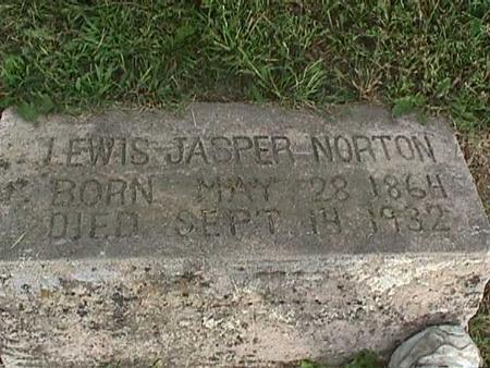 NORTON, LEWIS JASPER - Henry County, Iowa | LEWIS JASPER NORTON