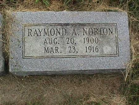 NORTON, RAYMOND A. - Henry County, Iowa | RAYMOND A. NORTON