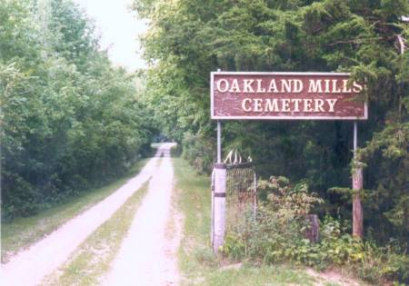 OAKLAND MILLS, CEMETERY - Henry County, Iowa | CEMETERY OAKLAND MILLS