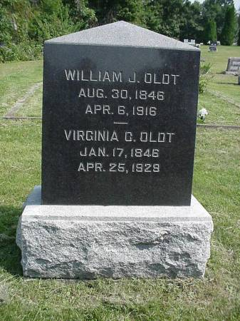 OLDT, WILLIAM J. & VIRGINIA G. - Henry County, Iowa | WILLIAM J. & VIRGINIA G. OLDT
