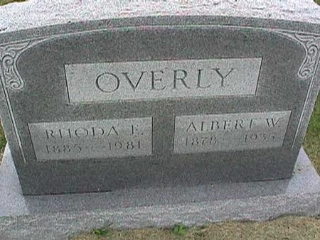 OVERLY, RHODA - Henry County, Iowa | RHODA OVERLY