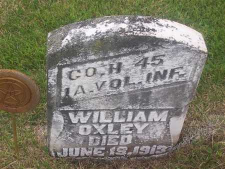 OXLEY, WILLIAM - Henry County, Iowa | WILLIAM OXLEY