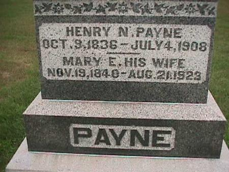PAYNE, MARY - Henry County, Iowa | MARY PAYNE