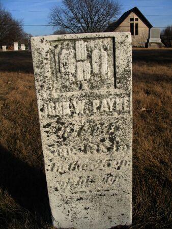 PAYNE, JOHN W. - Henry County, Iowa | JOHN W. PAYNE