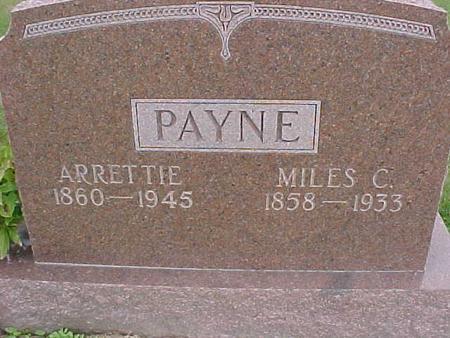 PAYNE, ARRETTIE - Henry County, Iowa | ARRETTIE PAYNE
