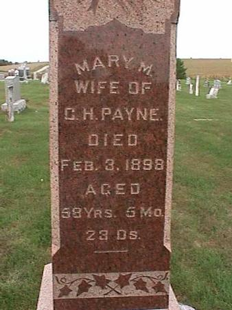 PAYNE, MARY M. - Henry County, Iowa | MARY M. PAYNE
