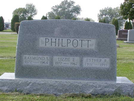 PHILPOTT, ESTHER R - Henry County, Iowa | ESTHER R PHILPOTT