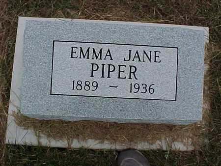 PIPER, EMMA JANE - Henry County, Iowa | EMMA JANE PIPER