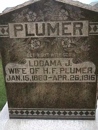 PLUMER, LOOAMA - Henry County, Iowa | LOOAMA PLUMER