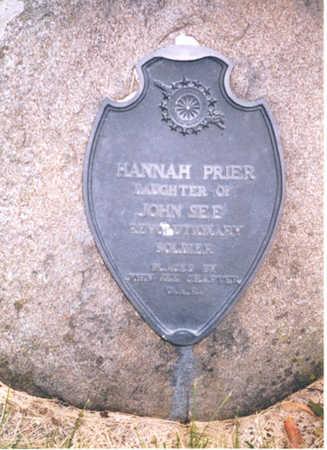 PRIER, HANNAH - Henry County, Iowa | HANNAH PRIER