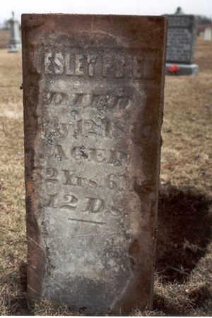 PRIER, WESLEY - Henry County, Iowa | WESLEY PRIER