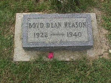 REASON, BOYD DEAN - Henry County, Iowa | BOYD DEAN REASON