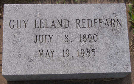 REDFEARN, GUY LELAND - Henry County, Iowa | GUY LELAND REDFEARN