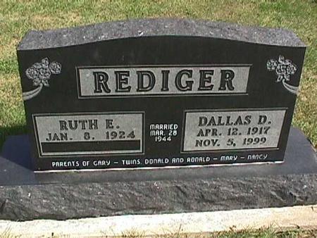 REDIGER, RUTH - Henry County, Iowa | RUTH REDIGER