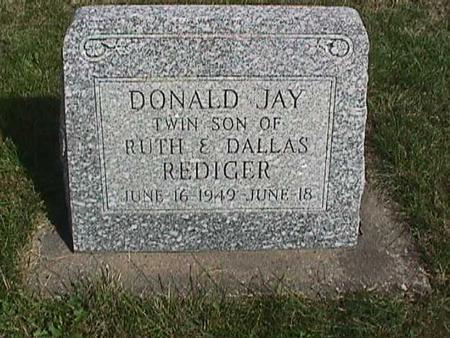 REDIGER, JAY - Henry County, Iowa | JAY REDIGER