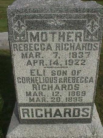 RICHARDS, REBECCA - Henry County, Iowa | REBECCA RICHARDS