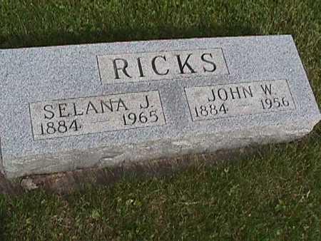 RICKS, JOHN - Henry County, Iowa | JOHN RICKS