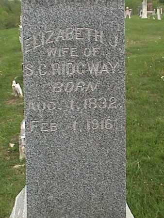 RIDGWAY, ELIZABETH - Henry County, Iowa | ELIZABETH RIDGWAY