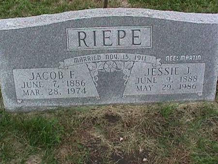 RIEPE, JACOB - Henry County, Iowa | JACOB RIEPE