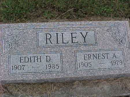 RILEY, EDITH - Henry County, Iowa | EDITH RILEY