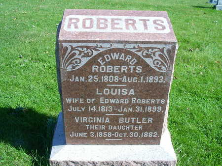 ROBERTS, EDWARD - Henry County, Iowa | EDWARD ROBERTS