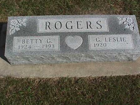 ROGERS, BETTY G. - Henry County, Iowa | BETTY G. ROGERS
