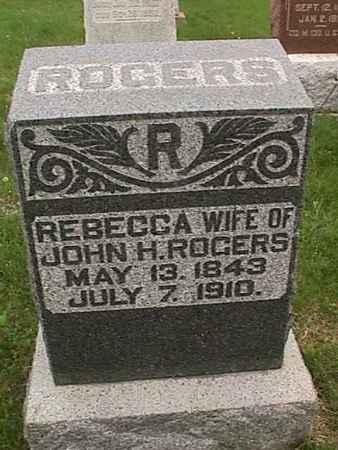 ROGERS, REBECCA - Henry County, Iowa | REBECCA ROGERS