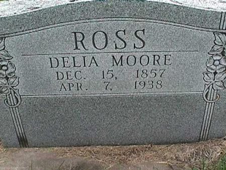 MOORE ROSS, DELIA - Henry County, Iowa | DELIA MOORE ROSS