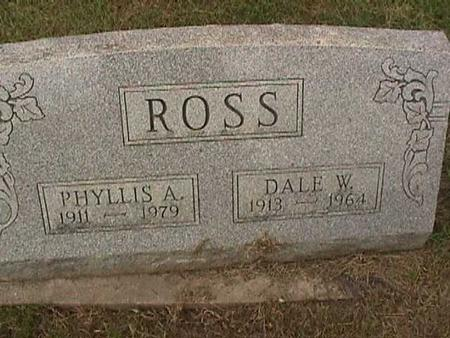ROSS, DALE W - Henry County, Iowa | DALE W ROSS