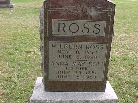 ROSS, ANNA MAY - Henry County, Iowa | ANNA MAY ROSS